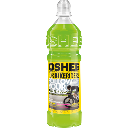 OSHEE Isotonic Drink For BIKERIDERS Lime-Mint, 750 ml