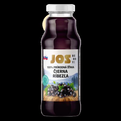 JOS Berry 100% RÍBEZĽOVÁ ŠŤAVA, 300 ML