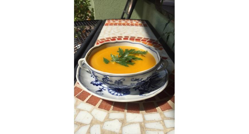 Hokkaido krémová polievka