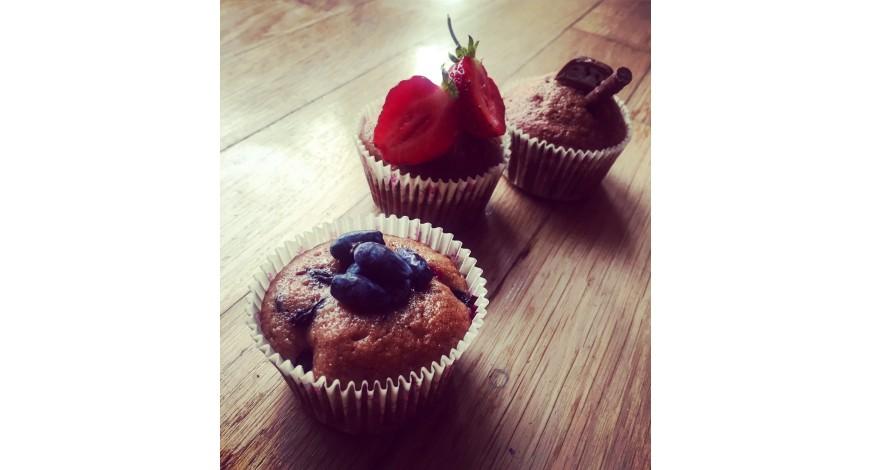 Bezlepkové cupcaky 3 v 1