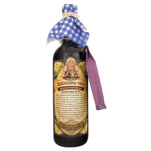 Babičkine maceračné víno 0,75l - bazové (BC62306)