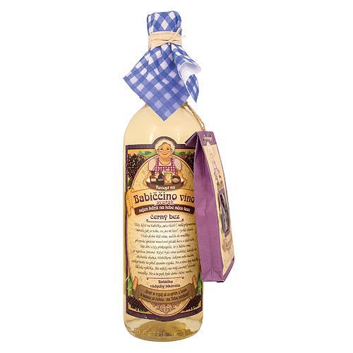Babičkine maceračné víno 0,75l - bazové (BC62307)