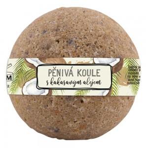 BOHEMIA Šumivá penivá guľa s kokosovým olejom, 100g (BC200139)