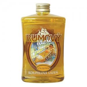 Olejový kúpeľ s vôňou rumu (500ml)