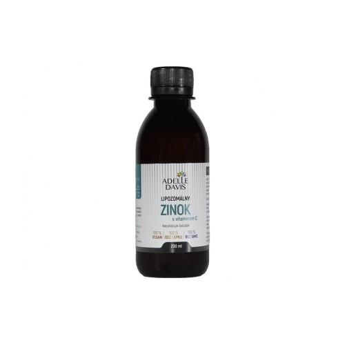 Adelle Davis - zinok, Lipozomálny, 200 ml