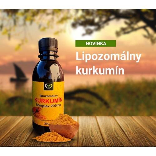 Lipozomálny kurkumín - zdravý svet, 200ml