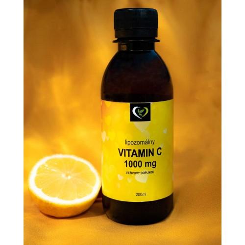 Lipozomálny vitamín C 1000mg - zdravý svet, 200ml