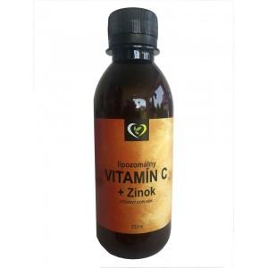 Lipozomálny vitamín C + Zinok - zdravý svet, 200ml
