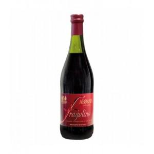 ABBAZIA FRAGOLINO Rosso 0,75l (šrobovací uzáver)
