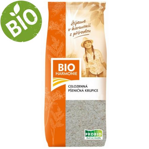 BIO celozrnná pšeničná krupica (400g) - Bioharmoie