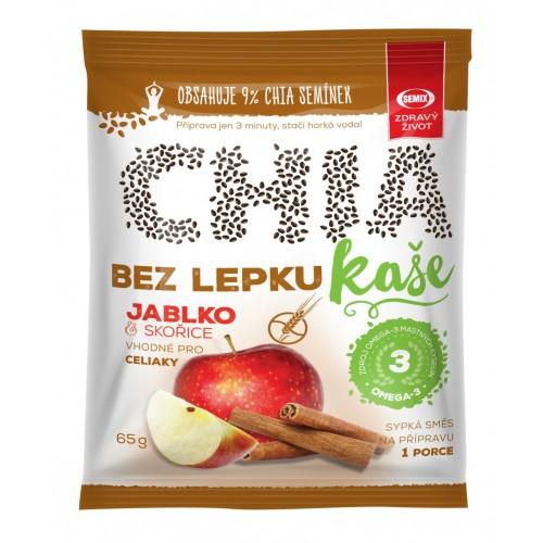 SEMIX CHIA bezlepková kaša jablko a škorica, 65g