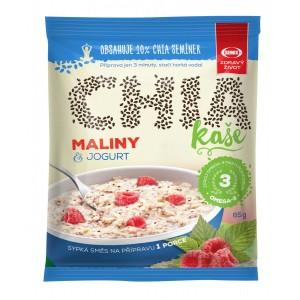 SEMIX CHIA Kaša s malinami a jogurtom, 65g