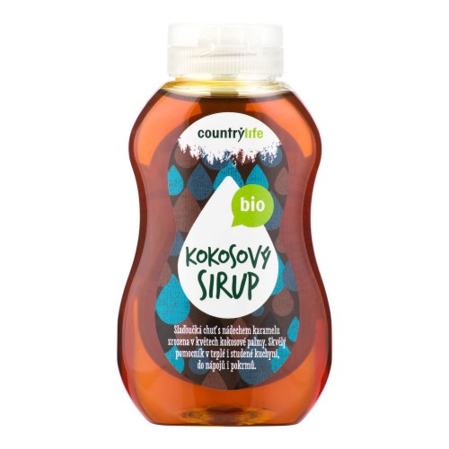 COUNTRY LIFE BIO kokosový sirup, 250ml