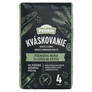 Penam pšeničná múka hladká 00 extra KVÁSKOVANIE, 1kg