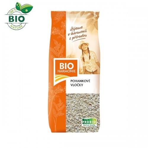 BIO pohánkové vločky (250g) - BioHarmonie