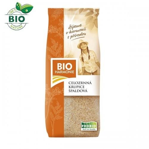 BIO špaldová krupica, celozrnná (400g) - BioHarmonie