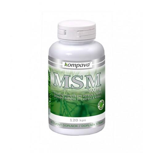 Kompava MSM - prírodná detoxikácia