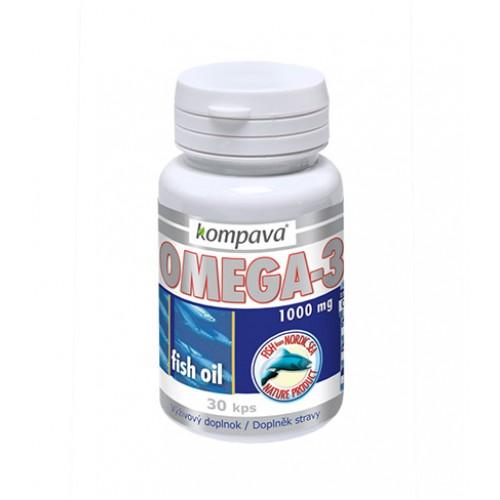 KOMPAVA Omega-3 (30 kapsúl)