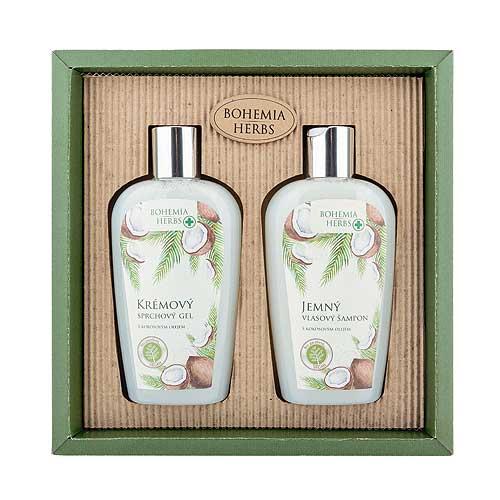 Bohemia Herbs kokosová sada sprchový gél, šampón (BC066008)