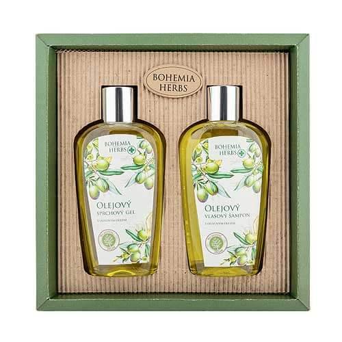 Bohemia Herbs sada sprchový gél, šampón, oliva (BC077007)