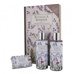 Bohemia Botanica sada sprchový gél, šampón, mydlo - levanduľa (BC190018)