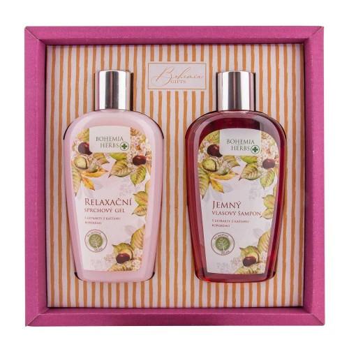 BOHEMIA Kozmetická sada gaštan sprchový gél, šampón (BC003008)