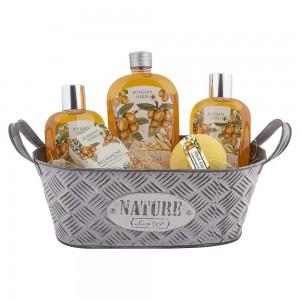 BOHEMIA plechový box s kozmetikou s argánovým olejom (BC200140)