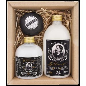 BOHEMIA sada GENTLEMAN šampón, gél, guľa (BC210052)