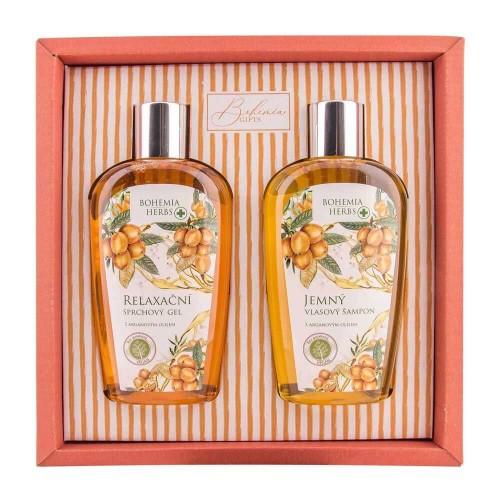 Bohemia Herbs argánová sada, sprchový gél, šampón (BC055014)