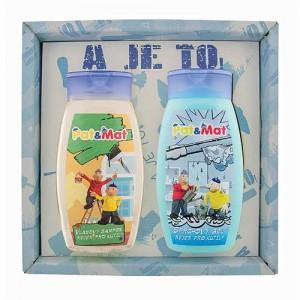 Detská sada Pat a Mat - šampón a sprchový gél, 2x250ml (BC127037)
