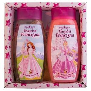 Detská sada Princezná - sprchový gél + šampón, 2x250ml (BC127019)