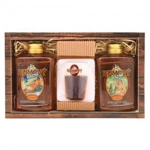 BOHEMIA rumová sada: gél, mydlo a olejový kupeľ (BC080073)