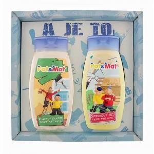 Sada Pat a Mat sprchový gél, šampón, stolár (BC127038)