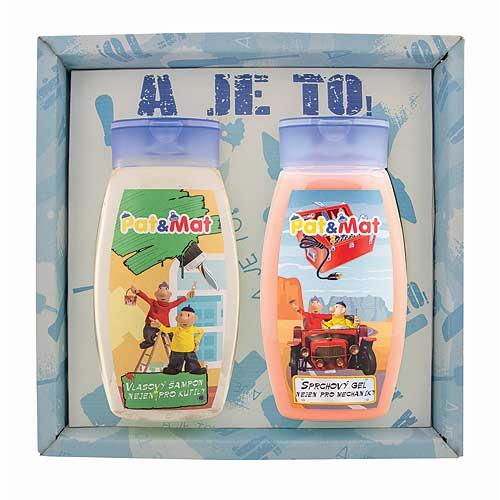 Sada Pat a Mat sprchový gél, šampón, mechanici (BC127039)