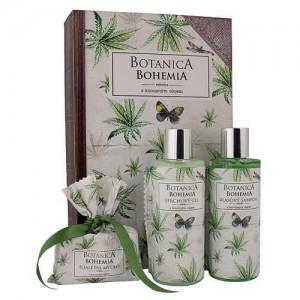 Botanica konopná sada sprchový gél + šampón + mydlo (BC190026)