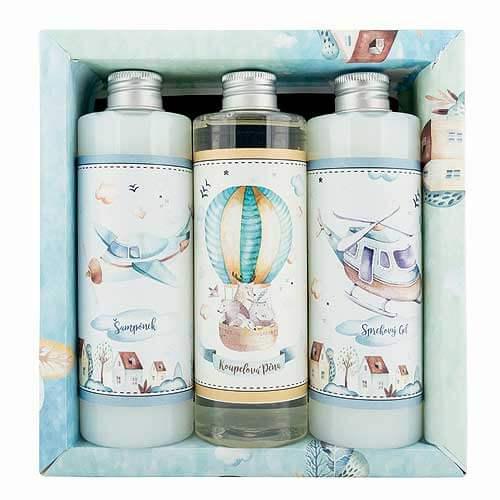 BOHEMIA Sada pre chlapcov XL gél, šampón, pena (BC190149)