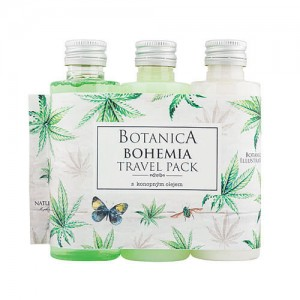 Botanica travel sprchový gél, šampón, mlieko - konope (BC190038)