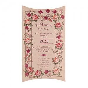 Ručne vyrábané toaletné mydlo - ruža, 100g (BC610002)