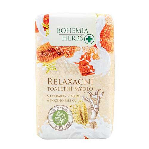 Bohemia Herbs mydlo med a kozie mlieko, 100g (BC044006)