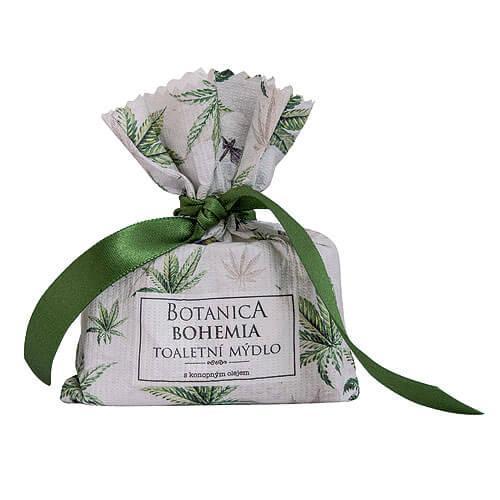 Botanica Bohemia ručne vyrábané konopné mydlo, tuhé, 100g (BC190025)