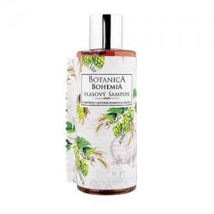 Botanica pivný vlasový šampón - chmeľ a obilie, 200ml (BC190040)