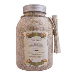 Kúpeľová soľ harmanček, nechtík, materina dúška 1200g (BC006131)