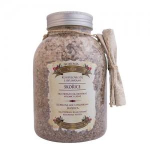 Kúpeľová soľ s bylinkami - škorica a agát, 1200g (BC006135)