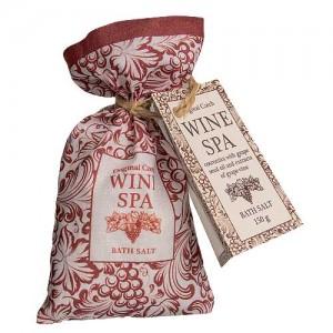 BOHEMIA Wine Spa soľ do kúpeľa v sáčku, 150g (BC008309)