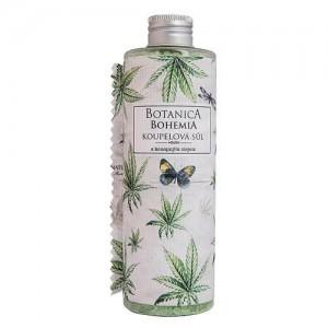 Botanica Bohemia kúpeľová soľ - cannabis, 320g (BC190024)