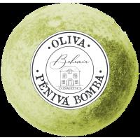Bohemia penivá guľa do kúpeľa oliva, 100g (BC200136)