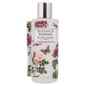 Botanica Bohemia telové mlieko šípka a ruže, 200ml (BC190029)