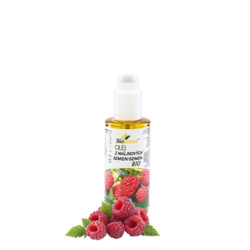 Biopurus BIO olej z malinových semien (s pumpou), 100 ml