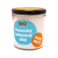 PURE NUTS BIO panenský kokosový olej, 330ml
