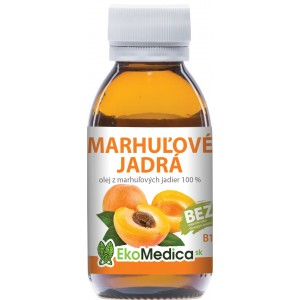 EkoMedica 100% marhuľový olej, 100ml
